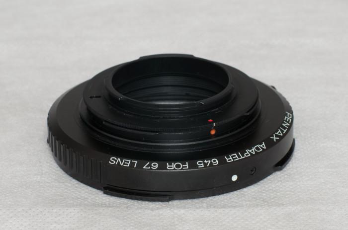 67用レンズ解像アダプター