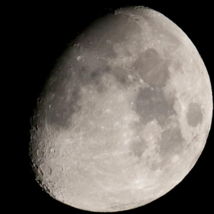 M★67 400mmF4ED[IF]で撮った月